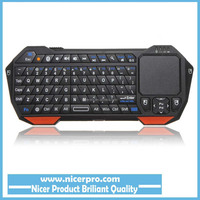 New Arrival Utra-thin & Lightweight 3 in 1 Mini Wireless Bluetooth Keyboard Mouse Touchpad For Windows For Android For iOS