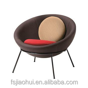 Replica Designer living furniture fiberglass fabric/leather Bowl chair