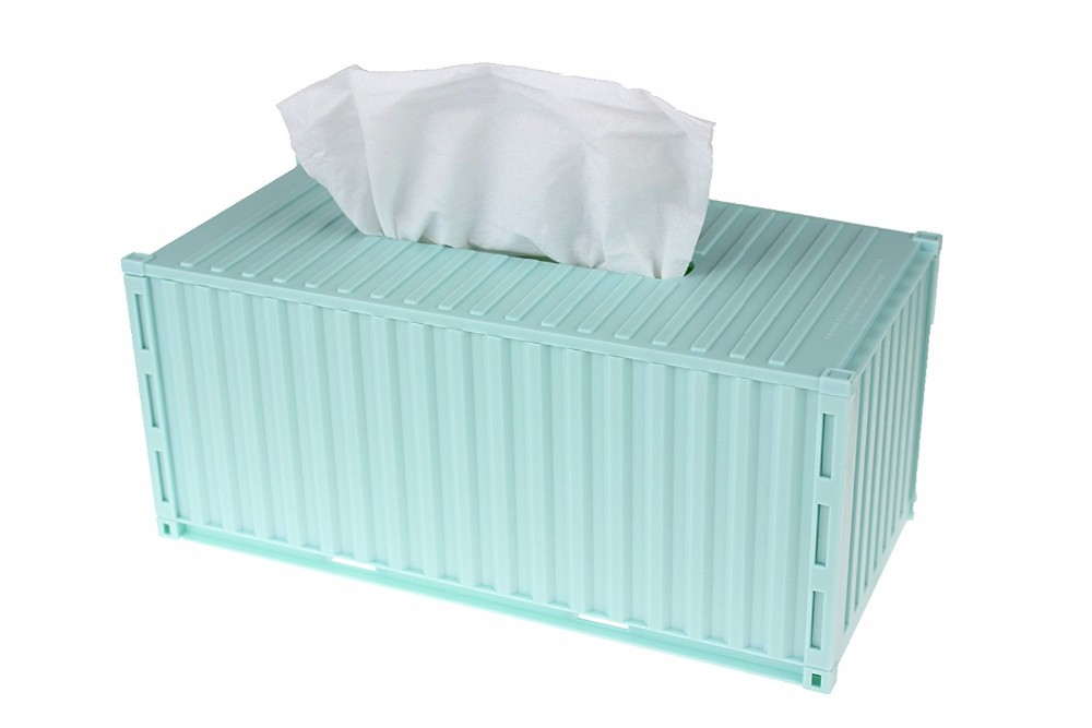Tissue dispenser Container