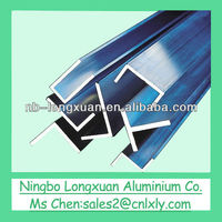 U shape various finish aluminum profile made by Ningbo Longxuan