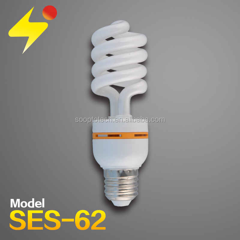High Quality Cfl 9w T4 Light,Energy Saving Half Spiral Bulb,T4 Energy-saving Lamps