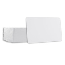 Cr80 size glossy pvc plastic white blank id card inkjet printable pvc id cards