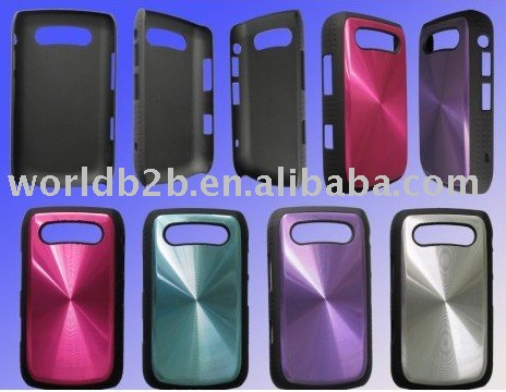 aluminium case for blackberry 9700