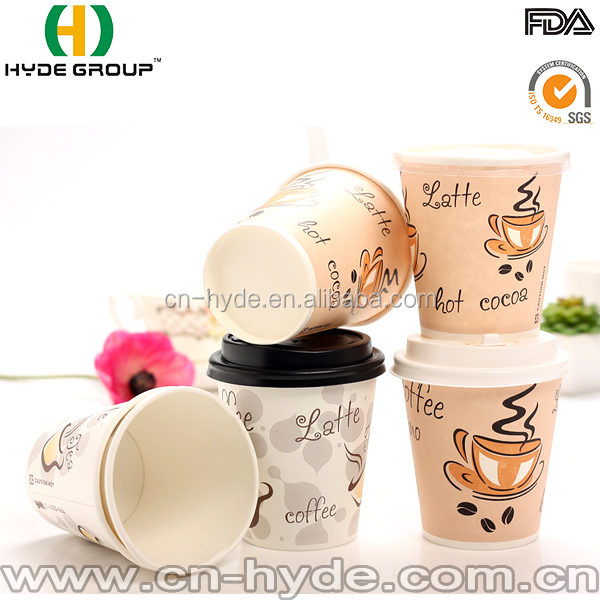 Ripple wall cup paper raw material for cup paper for coffee paper cup