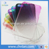 Various colors pc raindrop case for iphone 5 transparent case