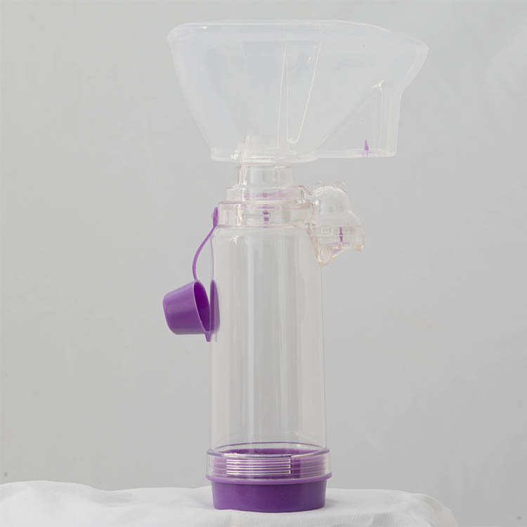 New Arrival holding chamber for metered dose inhaler