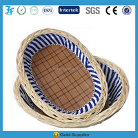 creative durable rattan kennel