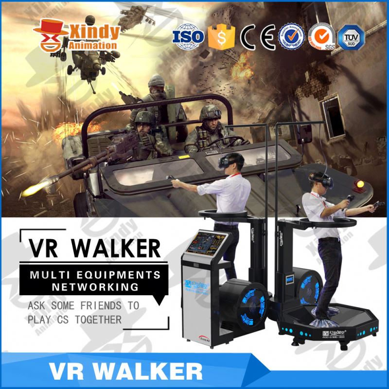New Business race pc driving game simulator 9d vr walking shooting
