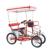 To Buy Family 2 Person Surrey Fahrrad Four Wheel Beach Tandem Quadricycle Bike with Free Duty