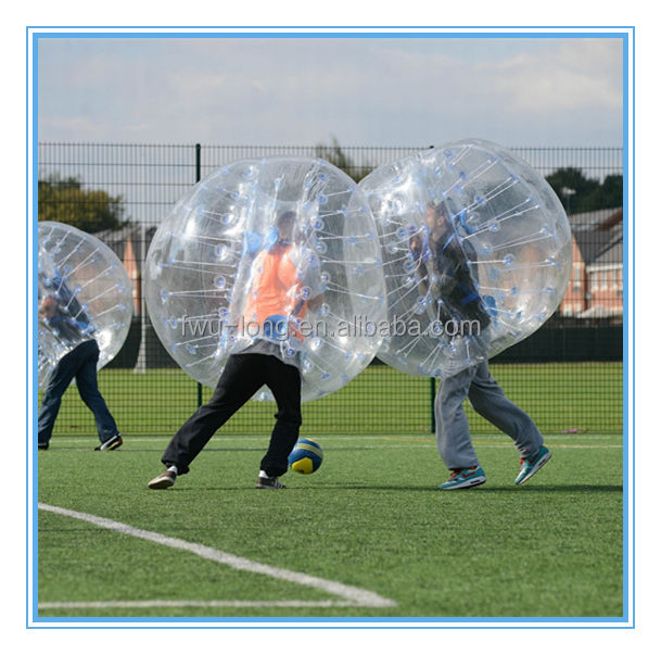 Extreme hot cheap human bubble ball, inflatable ball suit,bubble game