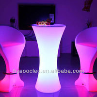 Elegant,Artistic and Exclusive design interactive LED bar table