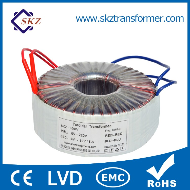 New Arrival Electronic Toroidal Output 12v Step Down Transformer