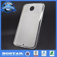 cell phone accessory new brand pudding tpu case for Motorola nexus 6
