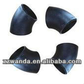Hot Sale!!! ANSI A234 WPB Butt Welded Seamless 45 Deg Long Radius Elbow
