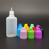 50ml soft ldpe squeezable plastic dropper bottle with childproof cap, ketchup bottle squeeze