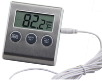LCD Display lab digital thermometer