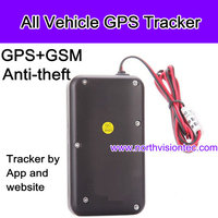 small waterproof IPx7 vehicle gps tracker with free IE service for car/auto/van