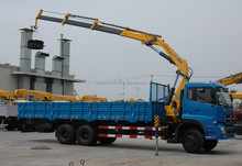 XCMG SQ5ZK3Q 5Ton 3 sections boom crane/mini truck mounted cranne/sale in Indonesia