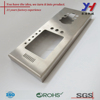 Stainless steel door lock encloser, Welding polished metal encloser