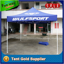 Commercial grade 3x3 gazebo tent with custom printing