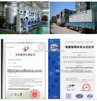 ISO certification oxygen cylinder filling plant