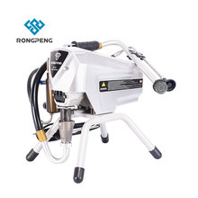 Heavy Duty Piston Pump RONGPENG R488 electric Airless Paint Sprayer with Easy Change Filter