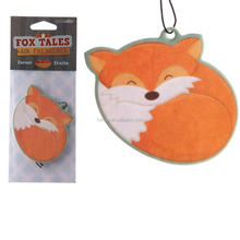 Custom Car Air Freshener Hanging / Promotional Air Freshener For Car