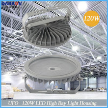 Meanwell led driver 3 years warranty 120W LED High bay light housing, SKD LED Fixture