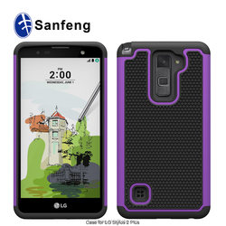 Phone protective case back cover for LG Stylus 2 Plus K530 K535
