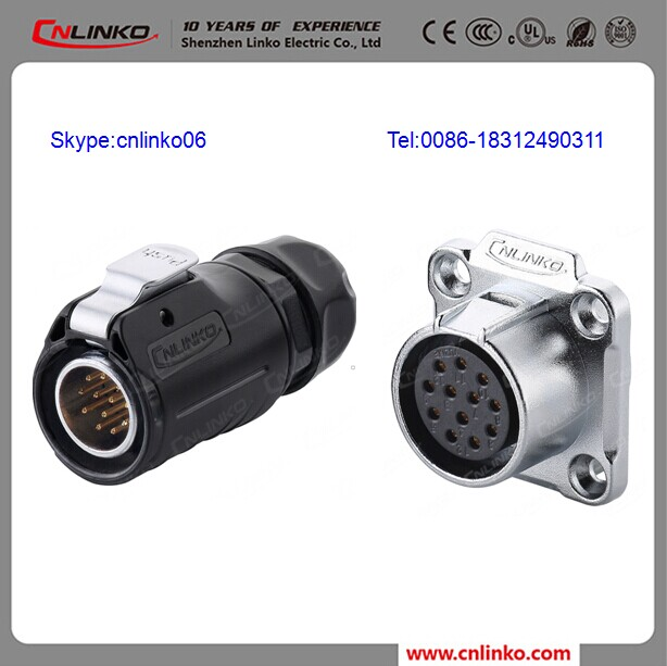 Male to female plug mega jack Modular Plug Connector