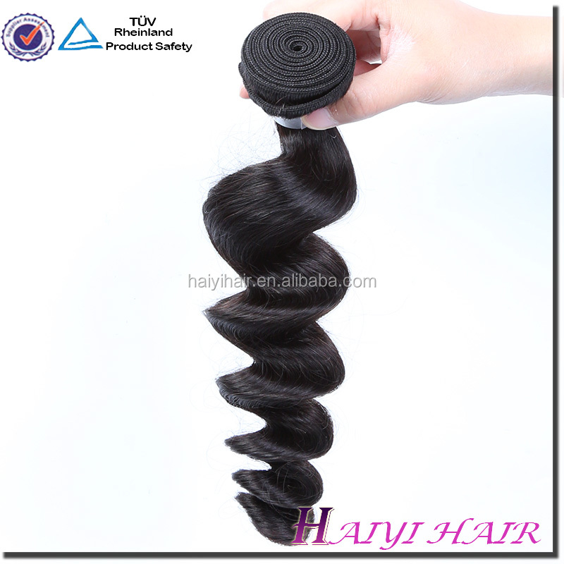 2016 Factory Price Large Store Wholesale Cheap Unprossed Wholesale Loose Wave Natural Virgin Hair Indian