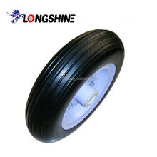 Pu/rubber foam filled tyres for wheel barrow