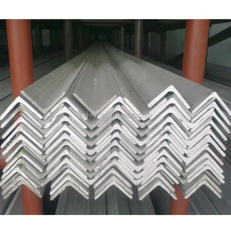angel iron/ hot rolled angel hot dip galvanized steel tower angle