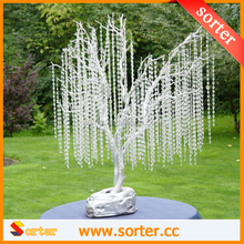 Pretty cheap crystal strand garland Christmas trees decoration