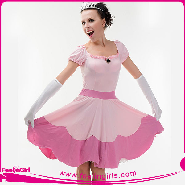 Wholesale Pink Cosplay Dance Stage Show Princess Costume