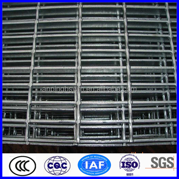 high quality stainless steel grate price serrated galvanized steel grating weight