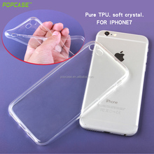 TPU transparent soft mobile phone case for iphone7 for i phone case