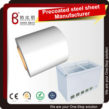 Precoated steel sheet processed into Freezer cabinet metal parts