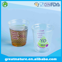PET/PP plastic cup with custom print