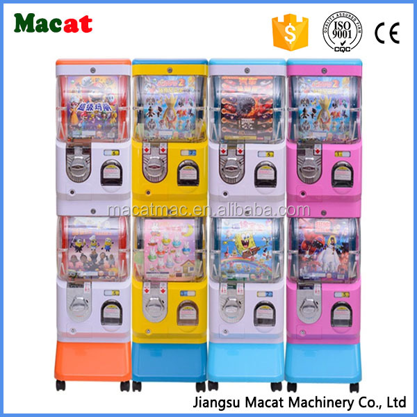 Candy Ball Vending Machine/Bouncy Ball Vending Machine/Amusement Gashapon Machine