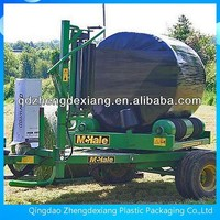 Silage film Type and Excellent UV resistance to ensure 12 months outdoor storage Feature grass baler wrap film