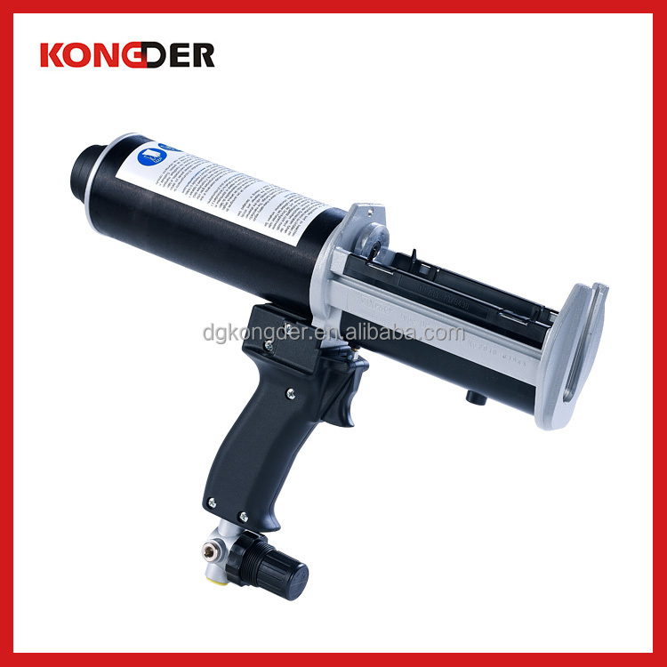 Wholesale 250ml pneumatic glue gun for black and gray