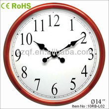 28cm Modern design quartz wood clock seiko wall clock