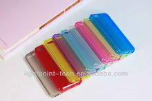 2013 Mobile phone Transparent TPU case for iphone5C, TPU Cell phone Case