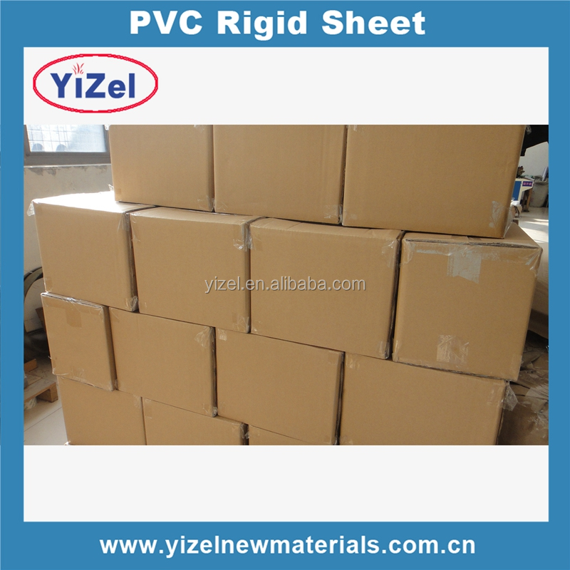 High quality Chinese factory white 4x8 pvc sheet for vacuum forming