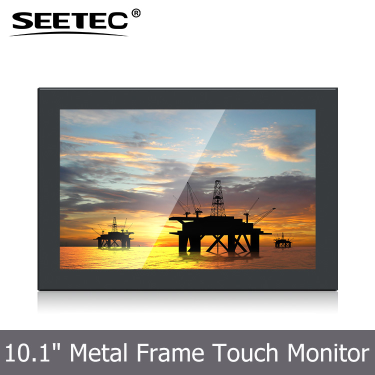 12V DC input metal shell USB or RS232 touch interface 16:9 high contrast 800:<strong>1</strong> 10.<strong>1</strong> inch open frame lcd monitor