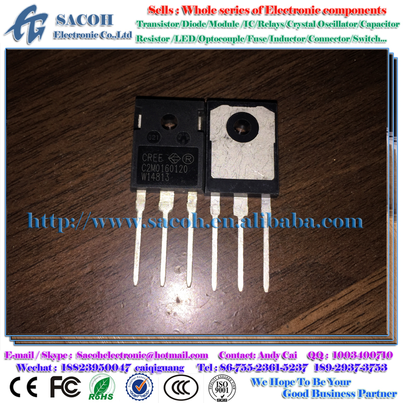 Electronic Components C2M0160120D C2M0160120 0160120 TO-247 17A 1200V Sic Silicon Carbide Power MOSFET Z FET MOS Transistors