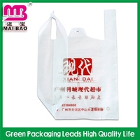 best for logo showing supermarket hd/ld printing t-shirt bag