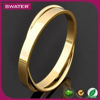 Promotional Gifts 2016 Gold Double Latest Bangle Designs