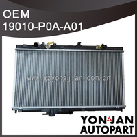 Auto Cooling Radiator OEM 19010-P0A-A01 radiator cooling supplier
